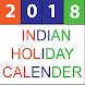 Indian Holiday Calendar 2018