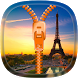 Paris Zipper Lock Screen by SOLITUDE