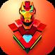 Super Hero Sticker by ITFlash Software