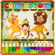 Kids Animal Color & Draw Fun by Tabs A