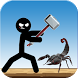 fight stickman vs scorpion