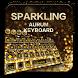 Sparkling Aurum Keyboard Theme by Echo Keyboard Theme