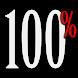 Percentage Battery widget V2 by Apperture Labs Battery Widget