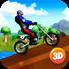 Motocross Bike Stunts Race 3D by Cartoon World Games