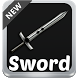 Swords Keyboard by SuperColor Themes