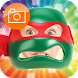 Turtle Mask Photo Stickers by Power Game Soft