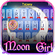 Moon Girl Theme&Emoji Keyboard by happy emoji keyboard theme studio