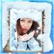 Frozen Winter Photo Frames by Mita and Mina Photo Studio