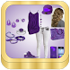 Purple Outfit Planner by azstudio