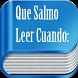 Cual Salmo Leer by Guillermo Antonio Valladares