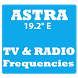 TV and Radio Frequencies on ASTRA Satellite by OUBA APPS