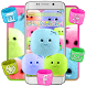 Cute Marshmallow Candy Theme by Launcher Fantasy