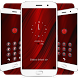 Red Abstract Locker Theme