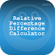 Relative % Difference Calci by HIOX Softwares Pvt Ltd