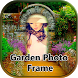 Garden Photo Frame by Photo video art & gallery