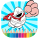 Kids Paint Captainn Underpants by Super Kids Coloring