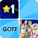 Kpop GOT7 Piano Game by Colab Project
