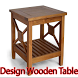 Design Wooden Table by khatami