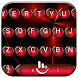 Keyboard Theme Spheres Red by Luklek