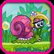Snail Girl Bob Candy by Hamza Elyajouri