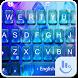 Cool Blue Water Summer Keyboard Theme by Fashion Cute Emoji