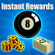 Daily Rewards For 8 Ball Pool