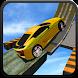 Crazy Sky Drive Car Track Mania Simulation