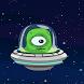 Flappy alien ship by via
