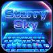 Starry Sky Keyboard Theme by Echo Keyboard Theme