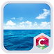 Blue Water Theme C Launcher by Pop Locker Team - Hide Secret App