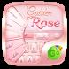 Golden Rose GO Keyboard Theme by Keyboard Fashion New