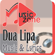 Dua Lipa Lost In Your Light Song Lyrics by Music Zone Studio
