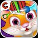 Superstar Kitty hair salon by Crazy Cartoons