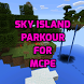 Sky Island parkour MCPE map by candy chicken
