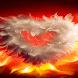 Wings Heart Live Wallpaper by Daksh Apps