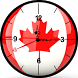 Canada Clock Live Wallpaper by AppzWorlD