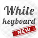 White Color Keyboard by BestSuperThemes