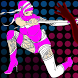 Cute Ninja vs Zombie by Randy Floranno