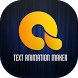 Text Animation Maker - Animate Text in Video