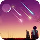Romatic Meteor Live Wallpaper by pantherbean