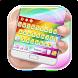 Colorful Rainbow Crystal by Echo Keyboard Theme