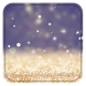 Gold Glitter Live Wallpaper by OOMGLIVE
