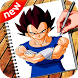 How to Draw DBZ Characters by Creative StudioInc