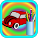 Learning Coloring Picture Car by isp game