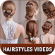 Hairstyle Videos Tutorial for Girls hair at home by Logindroids