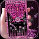 Pink Leopard diamond Theme by Leopard Print Themes
