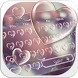 Pink Heart Bubble by Keyboard Design Paradise