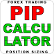 FOREX TRADING PIP CALCULATOR by Rafab1975