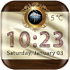 Luxury Weather Clock Widget by Cicmilic Soft