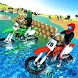 Beach Water Surfing Games: Bike Race by Big Bull: 3D Simulator Games
